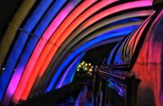 Floating Bridge project by Vigas - Amsterdam Light Festival 2014/2015