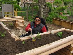 handicap accessible raised bed gardening