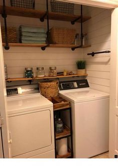 ~~Find more information on laundry basket organizer. Follow the link to read more...... Enjoy the website!!! Small Laundry Rooms, Inspire, Decorating Ideas, Room Decor, House, Home, Haus, Room Decorations, Centerpiece Ideas