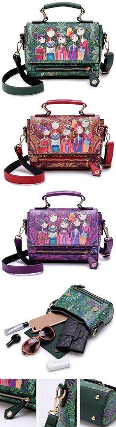0cd713b35a22 Shop This Bohemian Forest Print Handbag.Large Capacity&Waterproof&Stylish!