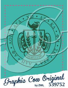 Panhellenic Crest #grafcow Panhellenic Council, Graphic Cow, Poster, Billboard