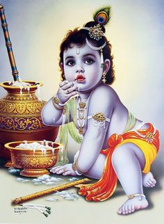 GOD HD WALLPAPERS Baby Krishna HD Wallpaper ✫ Krishna