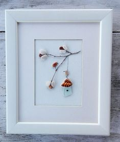 Pebble art birds, Birds art, Birds cage picture, pebble picture, anniversary gift, couple birthday, home decor