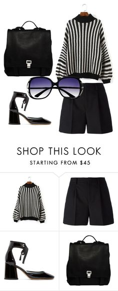 """Untitled #15"" by perianuramona on Polyvore featuring Yves Saint Laurent, Marc Jacobs and Proenza Schouler"