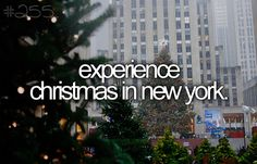 Experience Christmas in NYC.