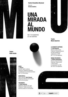 Typographic poster design by Isidro Ferrer Typo Poster, Typographic Poster, Poster Layout, Cool Typography, Typography Layout, Lettering, Graphic Design Posters, Graphic Design Typography, Web Design