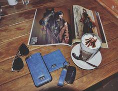 Case iPhone 6 e 6s em couro, acompanha porta cartão e chaveiro!
