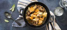Myskikurpitsa-lihapata Iron Pan, Low Carb Recipes, Curry, Ethnic Recipes, Kitchen, Foods, Low Carb, Food Food, Cuisine
