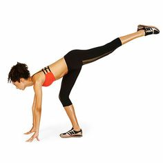 Sculpt a strong butt and legs with the Tipsy Lunge