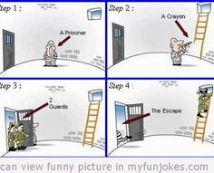 Invent the fun in you. Daily Fun Creation for Social Networking sites to entertain you! Enjoy funny pics and Jokes regularly. Very Funny Pictures, Cute Puppy Pictures, Funny Images, Prison Quotes, Prison Humor, Prison Escape, Prison Break, Dont Forget To Smile, Funny Jokes For Adults