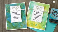 Distress Oxide Inks + LOTS of Cards + GIVEAWAY - Jennifer McGuire Ink