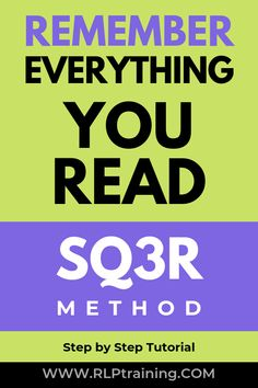Education Discover Reading-Strategy Remember Everything You Read Apply the method and make forgetting what you read a thing of the past! Learn from the examples in this step by step tutorial. Apply what you learn to your own reading & note taking. Reading Resources, Reading Strategies, Reading Skills, Speed Reading, Study Techniques, Learning Techniques, Learning Websites, Learning Styles, Educational Websites