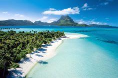 Bora Bora, Tahiti - Matira Beach| Community Post: 22 Beaches That Will Make You Forget About The Polar Vortex
