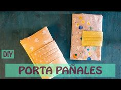 Cómo hacer un guarda pañales - YouTube Creations, Youtube, Sewing, Knitting, Crochet, Diy, Craft, Make A Purse, Baby Things