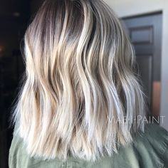 Short, blonde & shadowed #maeipaint