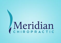 A logo design for Meridian Chiropractic