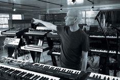 Synthesizer Storage ~ Vince Clarke    #electronicmusic #synthesizer #instruments #electroacoustic #sound #synthesis