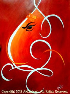 Higher resolution image of Lord Ganesha Acrylic Painting Easy at uploaded by (love canvas painting easy) Love Canvas Painting, Diy Wall Painting, Mural Painting, Abstract Canvas, Canvas Art, Acrylic Paintings, Fabric Painting, Lord Ganesha Paintings, Ganesha Art