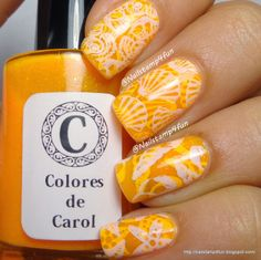 Jelly Nail Stamping Sandwich (see blog for video tutorial) #summernails