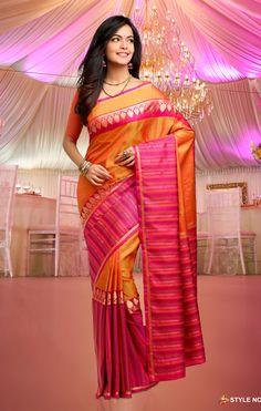fee5250b72 Rich Feel Soft Silk Saree 1037 Indian Silk Sarees, Soft Silk Sarees, Saree  Wedding
