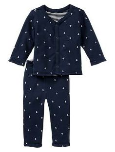 Favorite anchor reversible set - Made for baby's first moments.