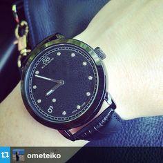 #Repost from @ometeiko with @repostapp --- Моя первая маленькая Швейцария #gift #watch #ruedurhone #black