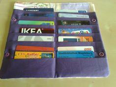 Tasche für Kundenkarten, Kreditkarten etc.