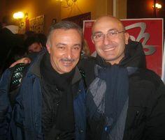 ilCaricaturista.it con l'attore napoletano Paolo Caiazzo