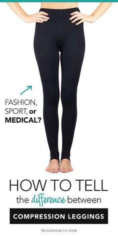 How to tell the difference between copmression leggings Legging Outfits, Leggings Fashion, Compression Hose, Compression Clothing, Maternity Compression Stockings, Sports Leggings, Workout Leggings, Rainy Day Outfit For School, Lymph Massage