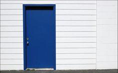 blue door?