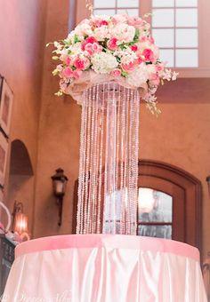 Elegant Baby Shower Ideas | Decoración de Baby Shower Elegante en Rosado