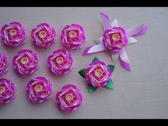 วิธีพับเหรียญโปรยทาน ดอกไม้แบบที่13 (ต้นฉบับ) - YouTube