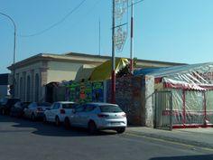 Patrimonio Industrial Arquitectónico: Los feriantes vuelven a instalarse sobre la Estaci...