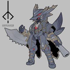 黒妖犬(HNT-So31~34)型メダロット「イェーガー」