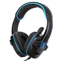 http://ift.tt/1S4J2vV GHB Sades SA-901 7.1CH Surround Sound Stereo Headset PC Gaming Kopfhörer mit USB-Stecker und Mikrofon BlauSchwarz @Checkingooo%%