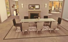 Sims 4 Modern House, Sims 4 House Design, Sims Freeplay Houses, Sims 4 Houses, Sims 4 House Plans, Casas The Sims 4, Sims Building, Sims 4 Build, Room Inspiration