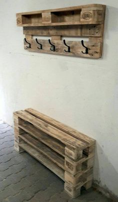 Garderobe Diy 9 great DIY furniture made from pallets 9 great DIY furniture made from pallets #