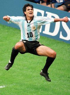 LEYENDAS DEL FÚTBOL. Ariel Ortega, Selección #Argentina.