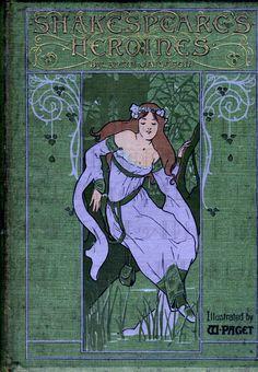 LAST CHANCE 1.15! SHAKESPEARE'S Heroines!  Vintage  Illustration. Digital Download. Digital Antique Art Nouveau Book Cover Download. by DandDDigitalDelights on Etsy https://www.etsy.com/listing/220458395/last-chance-115-shakespeares-heroines