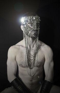 'Chain Warrior'  Photography: Kostas Ntanos Mask: K.Nt Model: Simon McCann