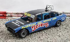 model banger racing car