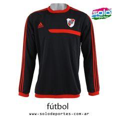 Buzo River Plate Sweat Top Gris/Rojo-Con friza  Marca: Adidas 100020G87489001   $ 529,00 (U$S 92,79)