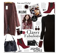 """Fun day"" by mada-malureanu ❤ liked on Polyvore featuring Maison Margiela, L'Autre Chose, Narciso Rodriguez, Marni, Alexander McQueen, Bobbi Brown Cosmetics, Sheinside, marsala and shein"