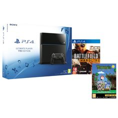 Sony PlayStation 4 1TB - Includes Battlefield: Hardline & Terraria - Bonus Collector's Edition
