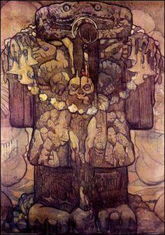 Saturnino Herrán (1887 - 1918) Pintor mexicano.