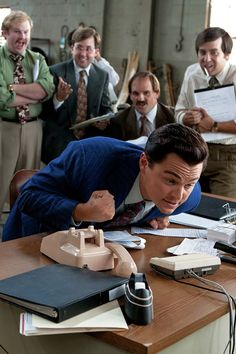 """ Leonardo DiCaprio The Wolf of Wall Street """