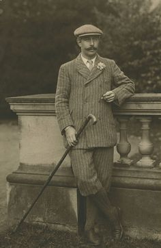 A Man In Knickerbockers. ca. 1910.