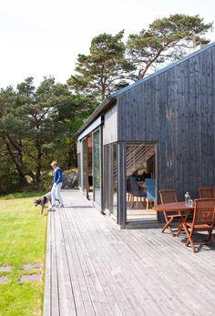 Batviken / PULS arkitekter – nowoczesna STODOŁA | wnętrza & DESIGN | projekty DOMÓW | dom STODOŁA