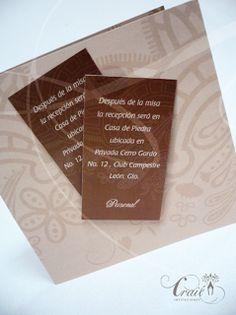 Craié Invitaciones - Boda - Bautizo - Eventos - XV años | León, Gto: EMPRESARIALES Y GRADUACIONES