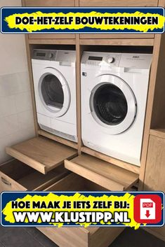Pantry Laundry Room, Laundry Room Layouts, Laundry Room Design, Washer And Dryer Pedestal, Laundry Room Pedestal, Rm 1, Entertainment Center Decor, Home Repair, Interior Design Kitchen